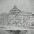 Library Of Congress Proposal 3 by Jost Houk