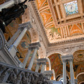 Library Of Congress Vii by Irene Abdou