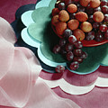 Lichees And Grapes by Stefania Levi