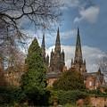 Lichfield Cathedral by Mickey At Rawshutterbug