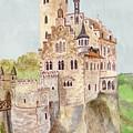 Lichtenstein Castle by Angeles M Pomata