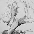 Life Drawing No. 101 by Betty Jean Billups