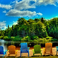 Life In The Adirondack Mountains by David Patterson