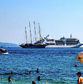 Life In The Adriatic Sea Dubrovnik by Lance Sheridan-Peel