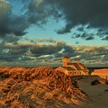 Life Saving Station Museum At Race Point by Marty Cowden