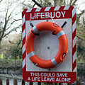 Lifebuoy Theft by Dave Philp