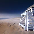 Lifeguard Chair - Nauset Beach by Dapixara Art