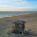 Lifeguard Hut by Richard Jarcy