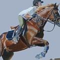 Horse Jumper by Patricia Barmatz