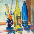 Light And Bottles by Laurie Paci