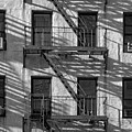 Light And Shadow On First Avenue by Robert Ullmann
