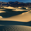 Light And Shadows In The Mesquite Sand Dunes Of Death Valley by Pierre Leclerc Photography