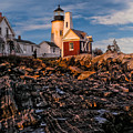 Light At Pemaquid Point by Nick Zelinsky