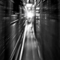 Light At The End Of The Tunnel 1 - Black And White by Steve Ohlsen