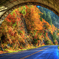 Light At The End Of The Tunnel Blue Ridge Parkway Art by Reid Callaway