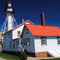 Light At Whitefish Point by Chuck Kugler