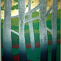 Light Between The Trees by Jarle Rosseland