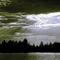 Light Blast In Evening by JGracey Stinson