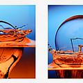 Light Bulb Drop In To The Water by Setsiri Silapasuwanchai