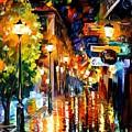 Light Fiesta by Leonid Afremov