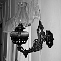 Light From The Past B W by D Hackett