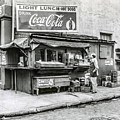 Light Lunch - Hot Dogs - Coca Cola by Bill Cannon