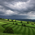Light On Mid Devon Hills by Pete Hemington