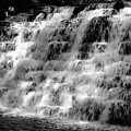 Light On The Jones Mill Run Dam by Shelley Smith