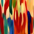 Light Through Flowers by Amy Vangsgard