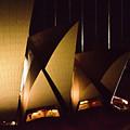Light Up Sail Of Opera House  by Miroslava Jurcik
