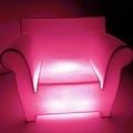 Lighted Chair 3 by Ron Kandt