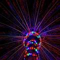 Lighted Palm by Robert Wilder Jr