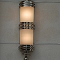 Lighted Wall Sconce by Rob Hans