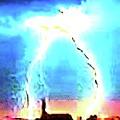 Lightening Strike by Ronald Irwin