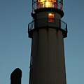Lighthouse Aglow by Robert Banach