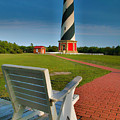 Lighthouse And Chair by Steven Ainsworth