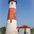 Lighthouse And Entry by Grace Grogan