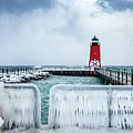 Lighthouse And Ice by Framing Places