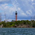 Lighthouse At Anclote Key by Barbara Bowen