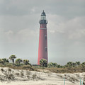 Lighthouse At Ponce Inlet by Deborah Benoit