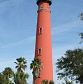 Lighthouse At Ponce Inlet by Terrisita Grant