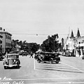 Lighthouse Avenue Downtown Pacific Grove, Calif. 1935  by California Views Archives Mr Pat Hathaway Archives