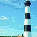 Lighthouse Bodie Island by Dominic Piperata