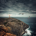 Lighthouse Cliff by Carlos Caetano