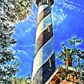 Lighthouse Close Up by Alice Gipson