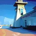 Lighthouse by Deborah MacQuarrie-Selib