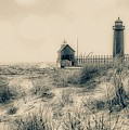 Lighthouse Fade by Susan Grube