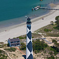 Lighthouse From Above by Betsy Knapp