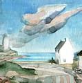 Lighthouse Harbour 3 by Elizabetha Fox