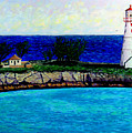 Lighthouse IIi by Stan Hamilton